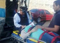 Se registra accidente en Lázaro Cárdenas, una mujer embarazada resultó lesionada
