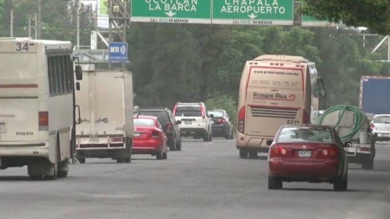 Comienzan las obras de reencarpetamiento en la carretera a Chapala