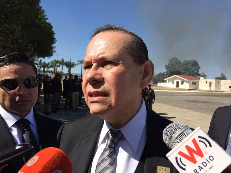 """Delegado de la PGR en Jalisco reconoce los esfuerzos del operativo """"Titán"""""""