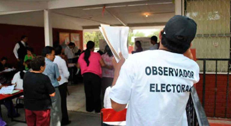 Nadie quiere ser observador electoral