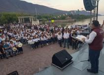 Lomelí inicia campaña, presenta 5 puntos torales
