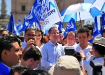 Miguel Ángel Martínez arranca campaña en San Juan de los Lagos