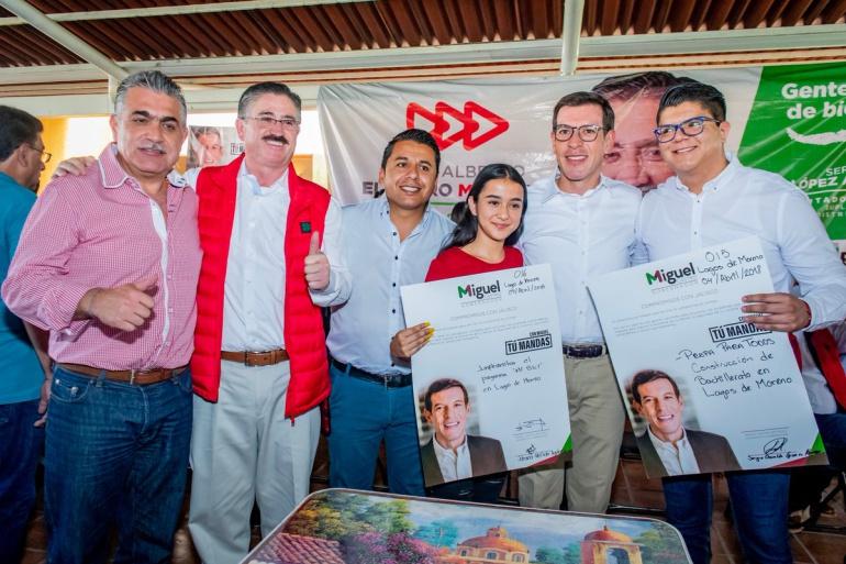 Mayor infraestructura para Lagos de Moreno, promete Castro Reynoso