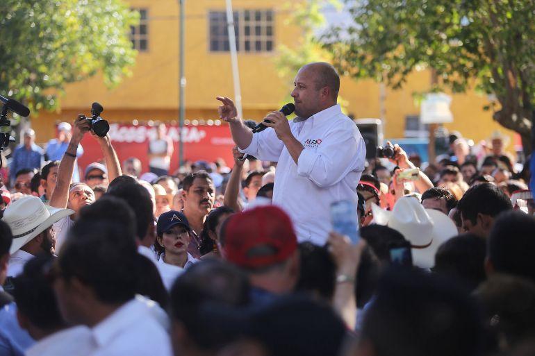 Promete Alfaro 200 millones de pesos para Totatiche