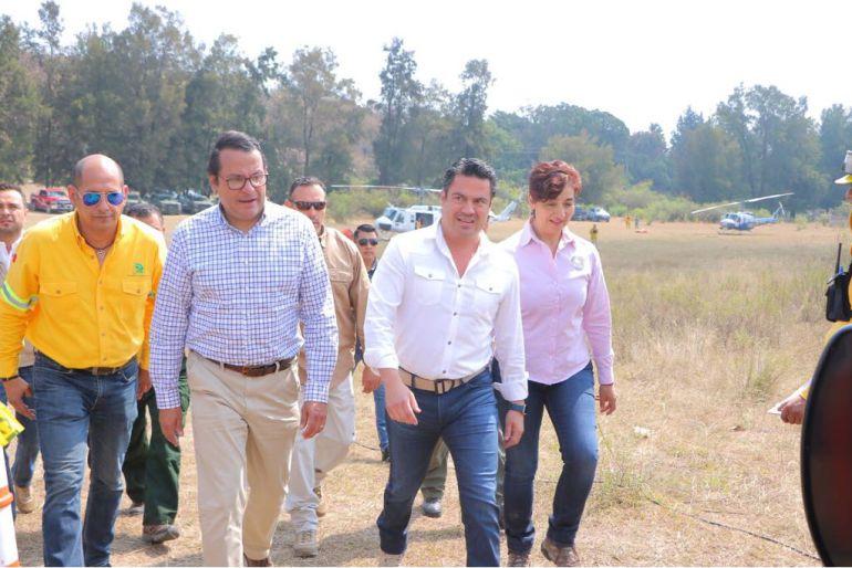 Gobierno apoyará los nuevos modelos de gestión territorial para evitar incendios forestales