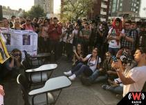 Marchan por estudiantes de cine desaparecidos