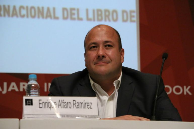 Yo sí voy a responder en el debate: Enrique Alfaro