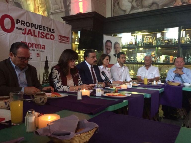 Carlos Lomelí presenta su propuesta de seguridad