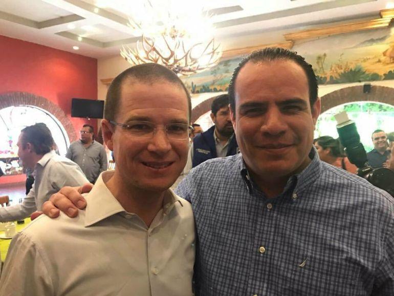 Asegura Borboa que Anaya va arriba en las encuestas en Jalisco