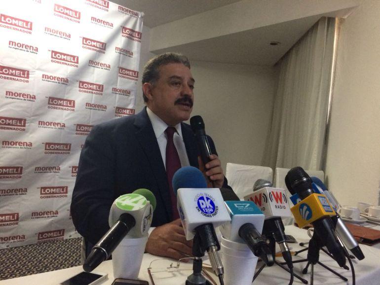 Asegura candidato de Morena a la gubernatura que se posiciona en las encuestas