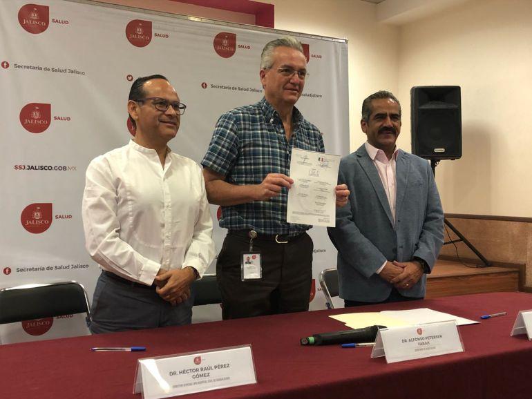 SSJ y HCG firman convenio para la atención del Seguro Popular