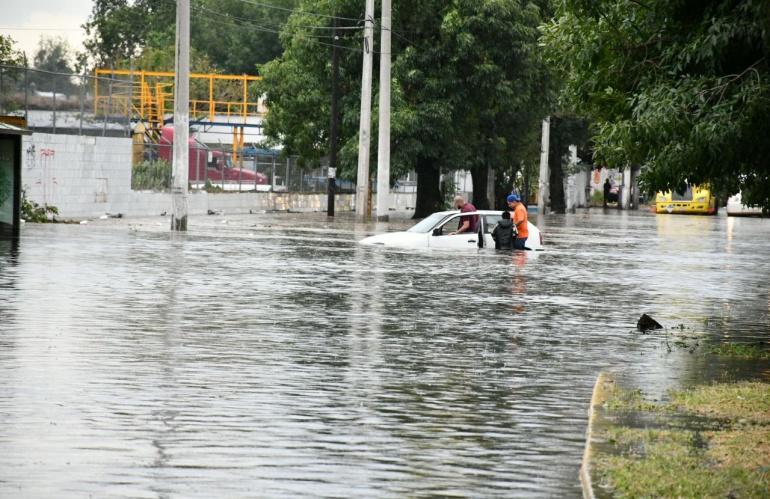 Registran inundaciones en el sur de la ZMG