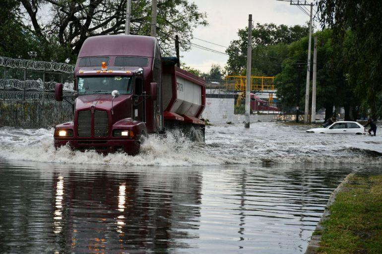 Sistema de mitigación de inundaciones está al 30%