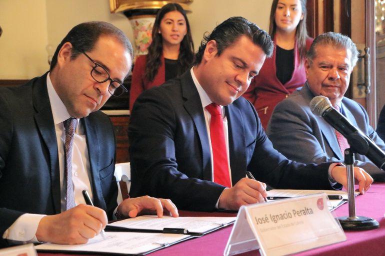 Se reúnen gobernadores de Jalisco y Colima para combatir la inseguridad