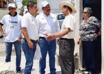 Tomas Padilla promete mejorar los servicios básicos en municipios del distrito 17