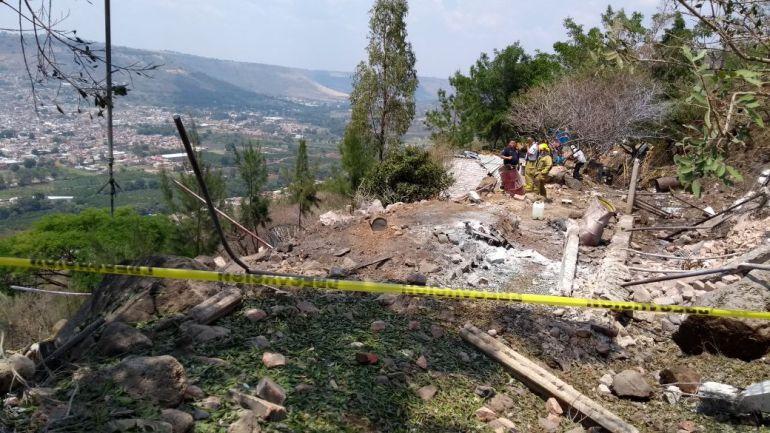 Explosión en Atotonilco el Alto deja tres heridos
