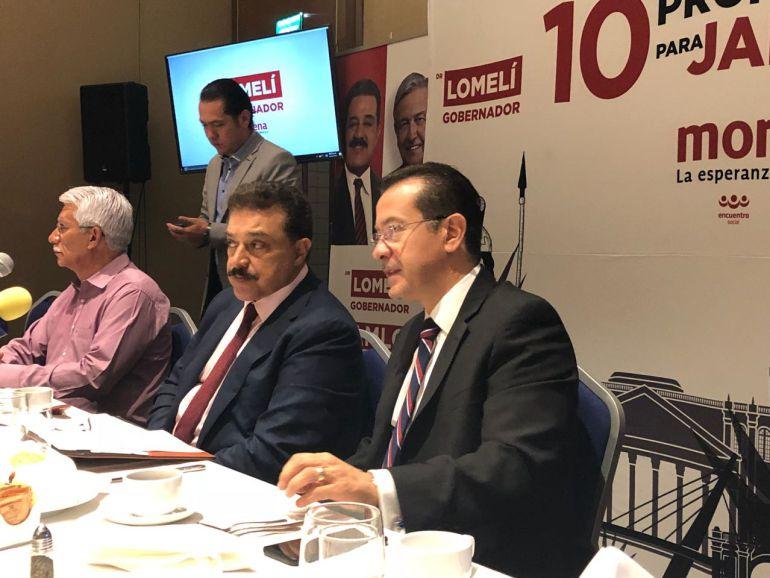 Candidato de Morena a la gubernatura presenta su propuesta de educación