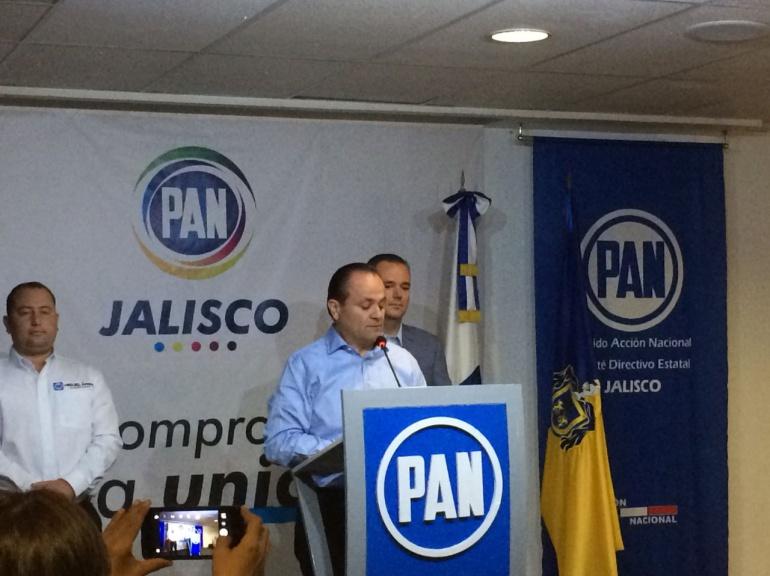 Candidato emecista en Chapala fingió agresiones: PAN