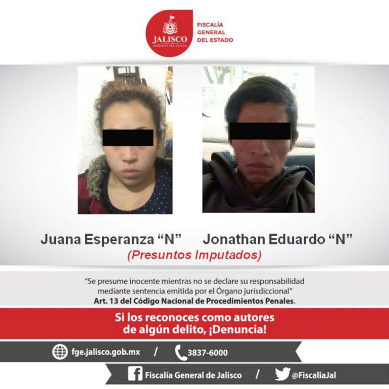 Detienen a pareja por presunto asesinato de una menor