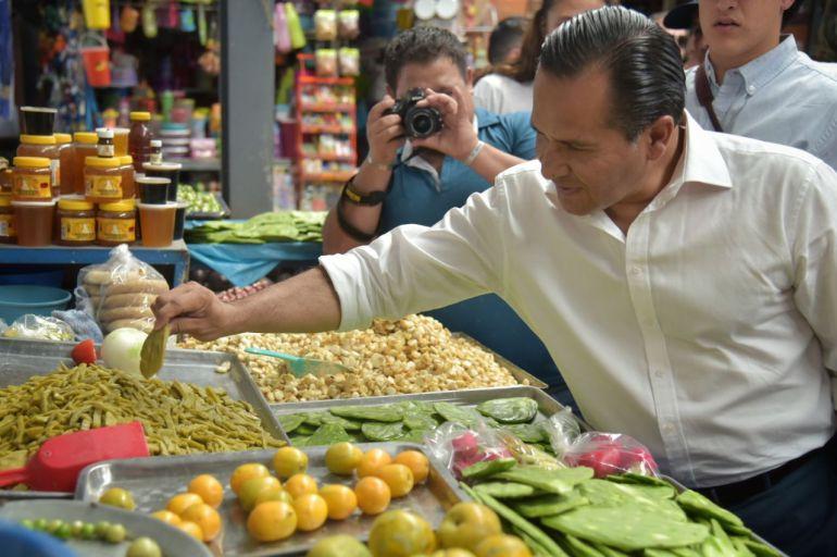 Descarta Almaguer reforzar su seguridad, tras el ataque a Luis Carlos Nájera