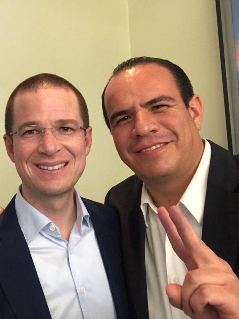 PAN descarta problemas por apoyo de Alfaro a Ricardo Anaya