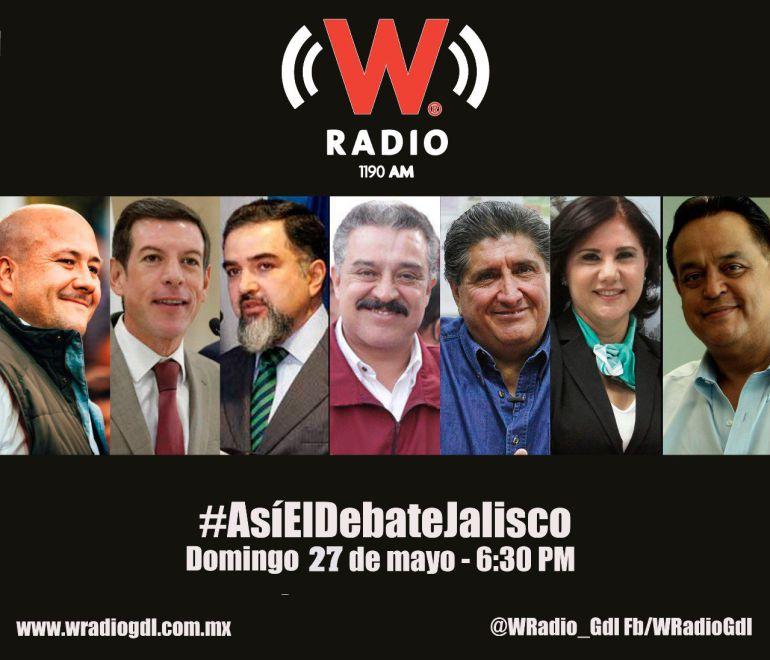 Escucha #AsíElDebateJalisco aquí