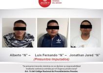 Detienen a tres presuntos participantes del tiroteo en Lagos de Moreno