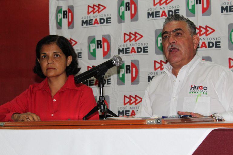 Los candidatos a senadores del PRI respaldan propuestas de Meade