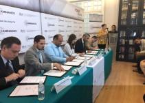 Firman convenio el ITEI y la CEDH