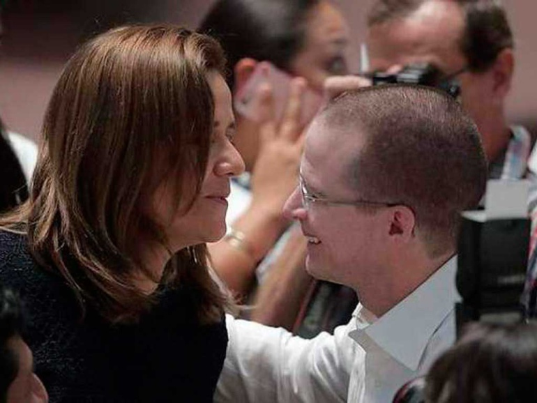 Simpatizantes de Margarita Zavala se suman a la campaña de Ricardo Anaya