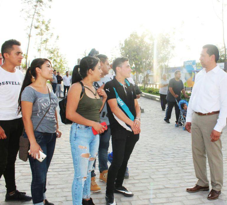 Nicolás Maestro propone mejorar la infraestructura en Tonalá