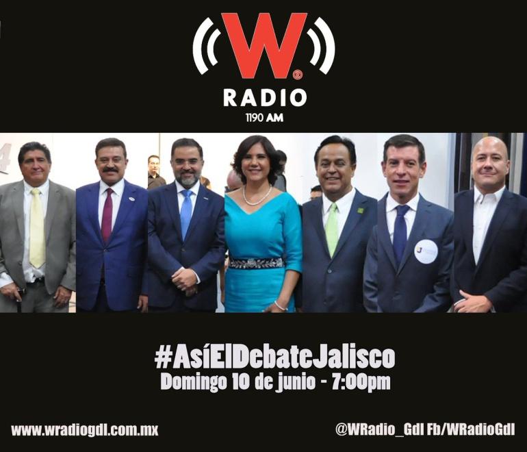 Revive el debate para Gobernador de Jalisco aquí