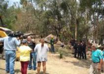 Vecinos intentan impedir el derribo de árboles en Arboledas Sur