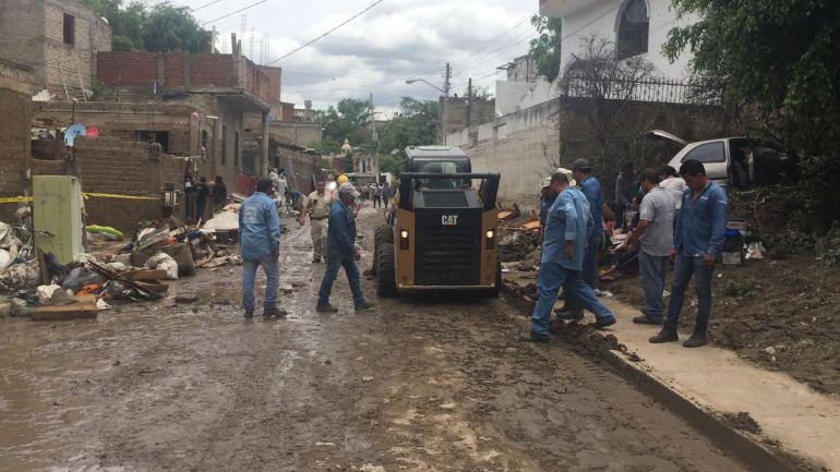 Declaran estado de emergencia en 9 colonias de Zapopan