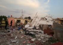 Continúan graves dos habitantes de la finca que explotó en Santa Fe