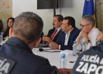 Acuerdan operativos para la jornada electoral en Jalisco