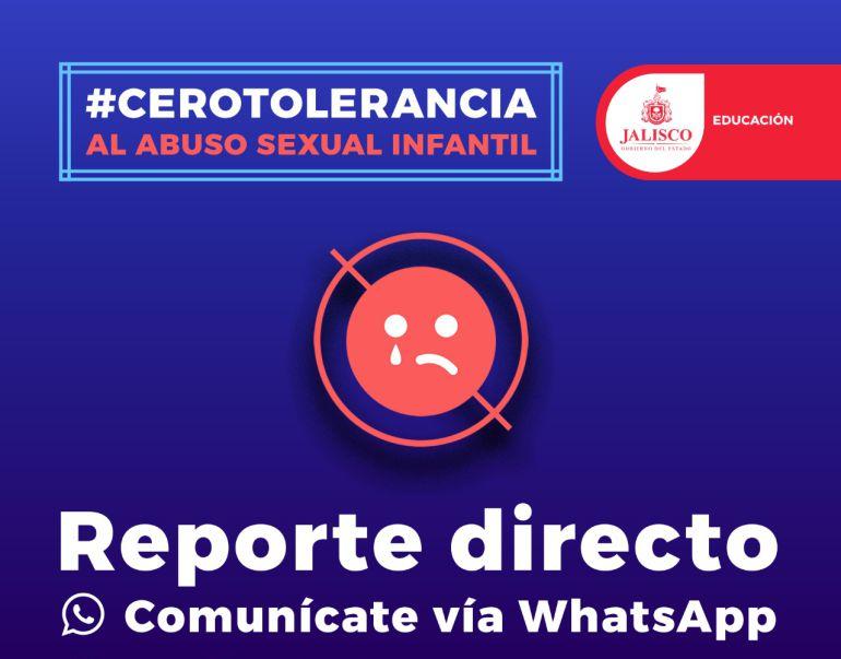 SEJ hablita línea de WhatsApp para recibir denuncias de abuso sexual