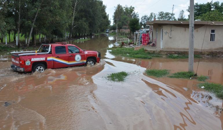 Viven bajo riesgo de inundación 10 mil jaliscienses