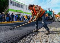 Inician obras de repavimentación en la zona de Cruz del Sur