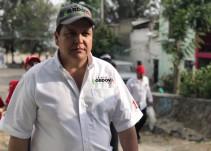 Candidato diputado local compromete a mejorar condiciones laborales de policías