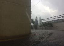 70 casas inundadas tras la tormenta de ayer en la tarde