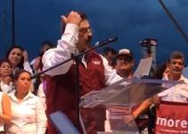 Carlos Lomelí cierra campaña en Plaza Juárez