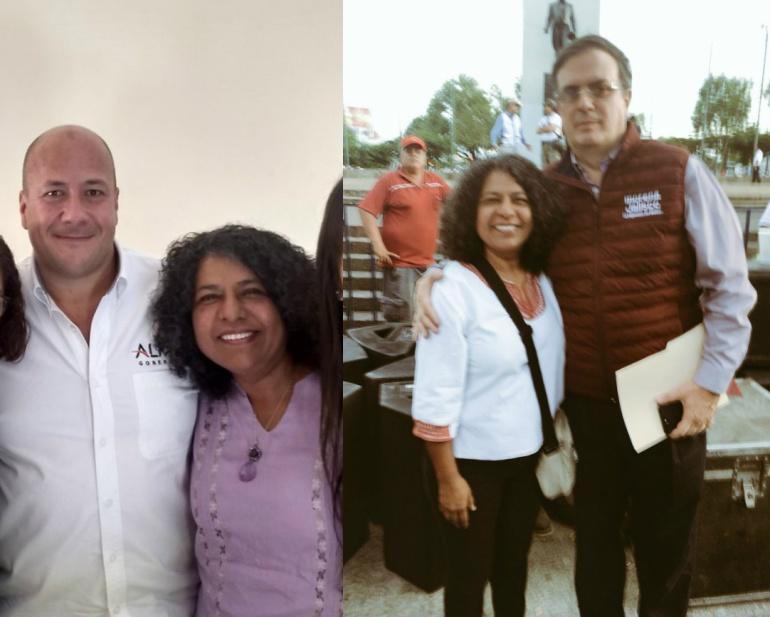 Candelaria Ochoa de MC apoya a Morena a nivel federal