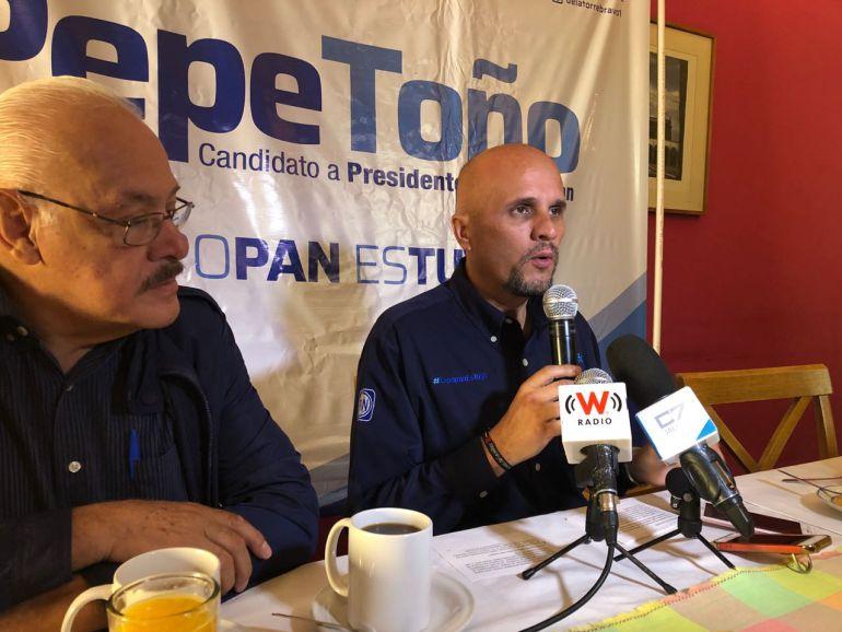 José Antonio de la Torre pide al gobierno proteger el proceso electoral