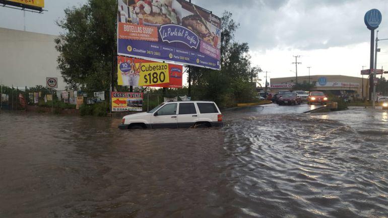 Afectaciones por lluvia de últimas horas: Se registran afectaciones tras la lluvia de las últimas horas