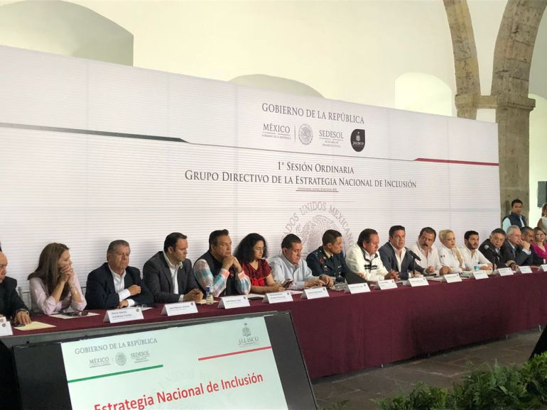 Aristóteles Sandoval destaca logros en combate a la pobreza