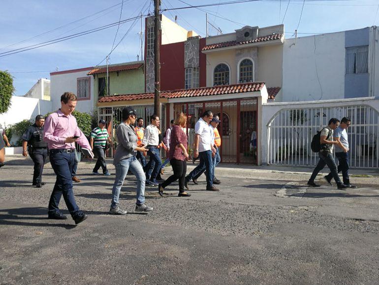 Zapopan recorre la colonia Residencial Moctezuma para escuchar a ciudadanos