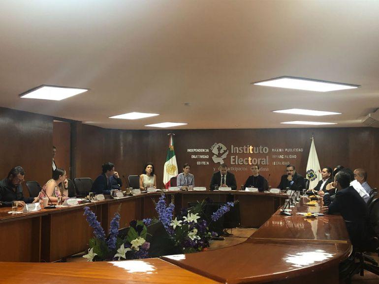Inconformidades en la distribución de diputados, retrasa de nuevo sesión del IEPC