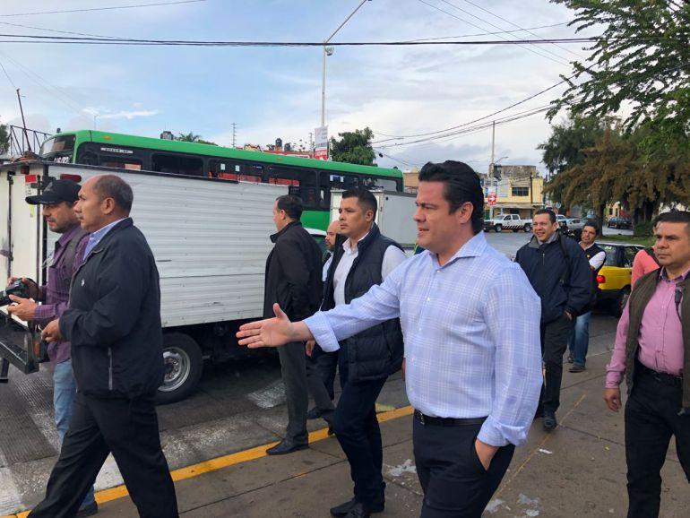 Aristóteles Sandoval reconoce atrasos en la implementación de la ruta empresa