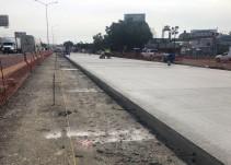 SIOP inicia colocación de concreto en Periférico Sur